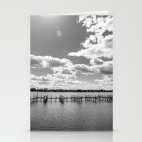 Buckeye Lake B&W Stationery Cards