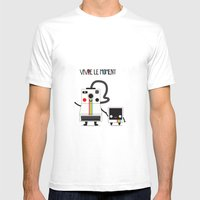 Vivre Le Moment Mens Fitted Tee White SMALL