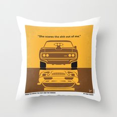 No207 My The Fast And Th… Throw Pillow
