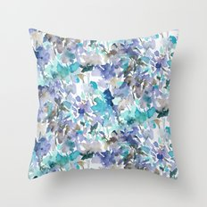 Local Color Blue Mint Throw Pillow