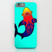 Fabulous Fire Shark  iPhone 6 Slim Case