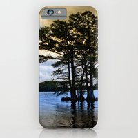 iPhone & iPod Case featuring Cypress Trees by Anthony M. Davis