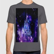 Fantasy Castle Mens Fitted Tee Asphalt SMALL