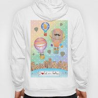I {❤} Hot Air Balloon Hoody