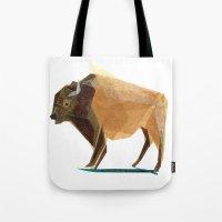 Jasper Buffalo Tote Bag