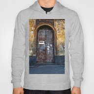 Old Sicilian Door Of Cat… Hoody