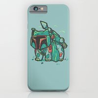 iPhone Cases featuring BulbaFett by Jonah Block
