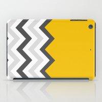 Color Blocked Chevron 17 iPad Case