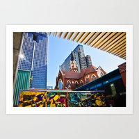 Abstract Architecture Art Print