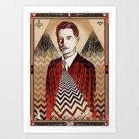 Twin Peaks ∆∆ Art Print
