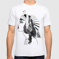 Queen of The Nile. Mens Fitted Tee Ash Grey SMALL