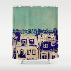 Roofs Shower Curtain