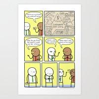 Antics #170 - Failure To… Art Print