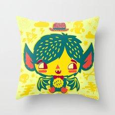 Béla Jr. Throw Pillow
