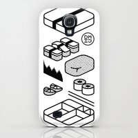 Galaxy S4 Cases featuring Bento Box by Design Made in Japan