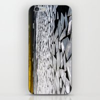 Broken ice floes iPhone & iPod Skin