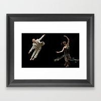 Bodyvox Duo Two Framed Art Print