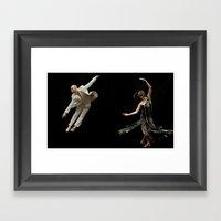 Bodyvox Duo Two Framed Art Print