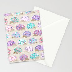 Hedgehog polkadot Stationery Cards