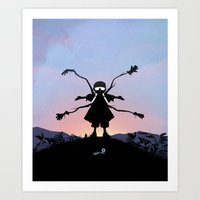 Doc Ock Kid Art Print