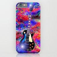 Psychedelic Guitar iPhone 6 Slim Case
