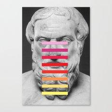 Sculpture With A Spectru… Canvas Print