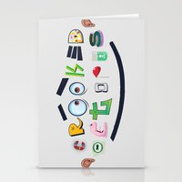 Smiling Octopus Stationery Cards