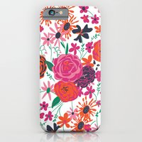 iPhone & iPod Case featuring blooming love by Vy La