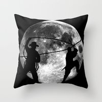 Night Or Day Throw Pillow