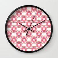 Citrus Morning Mandala Wall Clock