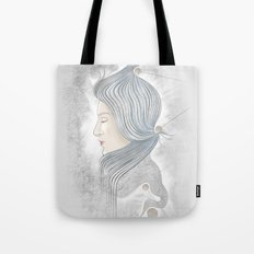 The waterfall of Subconsciousness Tote Bag