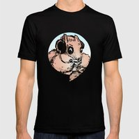 You're Chipmunking Again Mens Fitted Tee Black SMALL