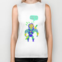 Masters of the universe of love 2 Biker Tank