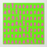Dip & Come Up - Lime Jui… Canvas Print