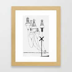 It Could Be A Balloon Framed Art Print