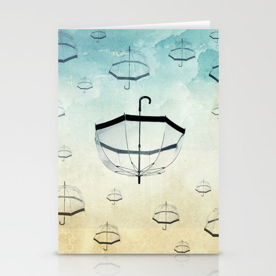 wishing for rain Stationery Card