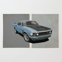 Ford Mustang Rug