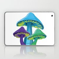 Alice's Shrooms Laptop & iPad Skin