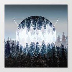 Woods 4 Canvas Print