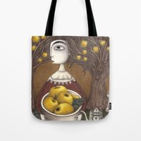 Portrait Of An Apple Orc… Tote Bag