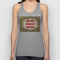 Stained Glass Home Sweet Home  Unisex Tank Top