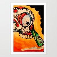 los muertos  Art Print