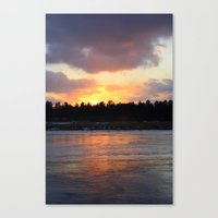 Fire & Ice Canvas Print