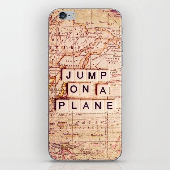 jump on a plane iPhone & iPod Skin