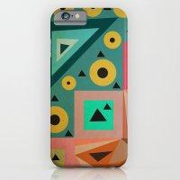 crazy triangles iPhone 6 Slim Case