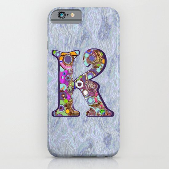 The Letter K iPhone & iPod Case