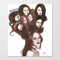 PEYOTE LDR  Canvas Print