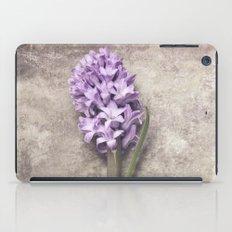 Light Purple Hyacinth iPad Case