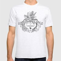 Leo & Tiger Mens Fitted Tee Ash Grey SMALL