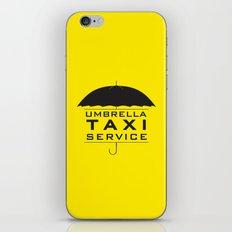 umbrella taxi service iPhone & iPod Skin